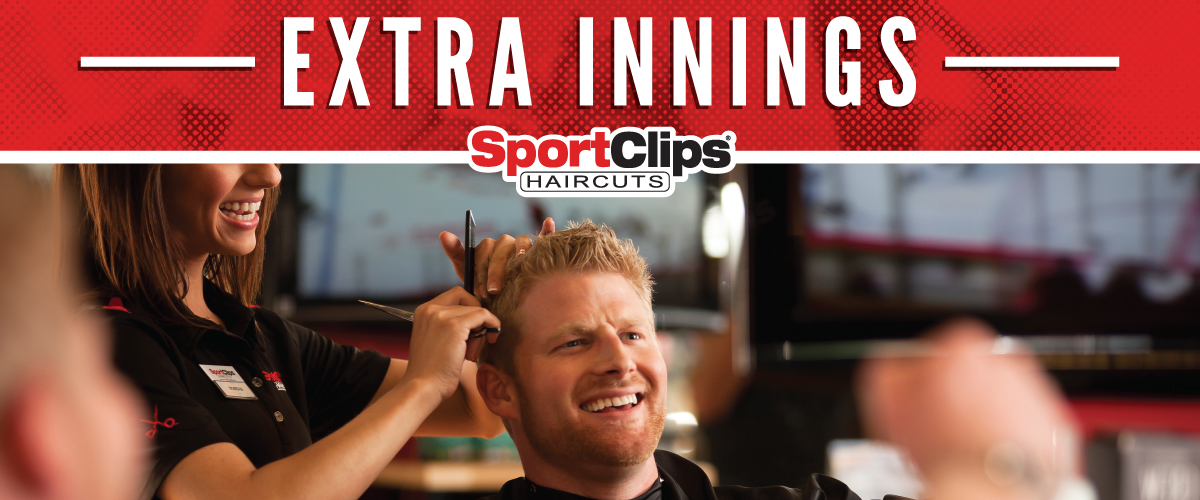 The Sport Clips Haircuts of Redmond Extra Innings Offerings
